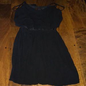 TopShop Black Mini Dress